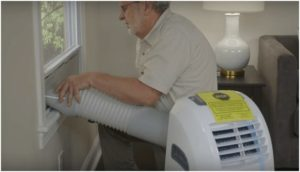 How to Install Portable AC Without Leaks 3