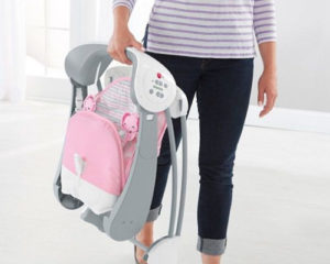 Portable baby swing 2
