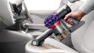 Portable vacuum for car