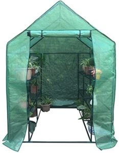 BIGTREE Portable 4 Shelves Greenhouse