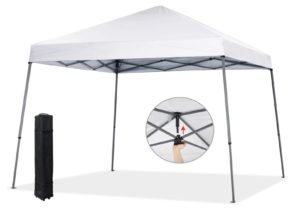 COOSHADE 8x8ft Slant Leg Pop Up Canopy Tent