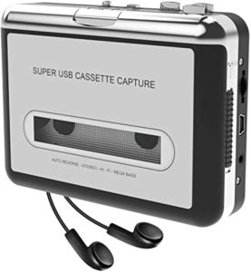 Cassette Player-Cassette Tape to MP3 CD Converter