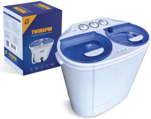 Garatic Portable Compact Mini Twin Tub Washing Machine