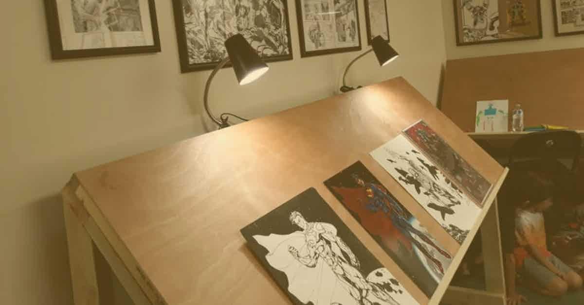 Portable Art Tables