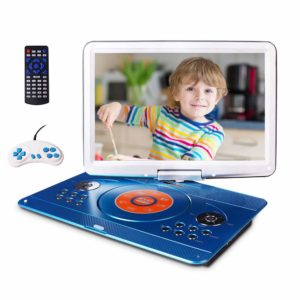 """Portable DVD Player with 14.1"""" Large Swivel Screen"""