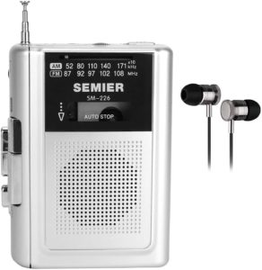 SEMIER Portable Cassette Player