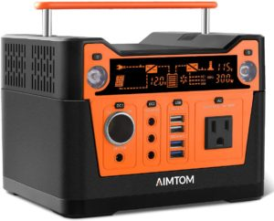 AIMTOM 300-Watt Portable Power Station