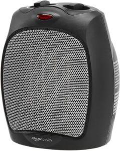 AmazonBasics 1500W Ceramic Personal Heater