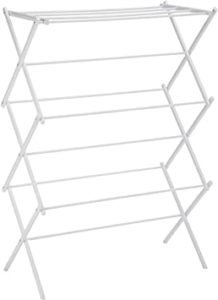 AmazonBasics Foldable Clothes Drying Laundry Rack