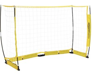 AmazonBasics Portable Easy-Up Soccer Goal