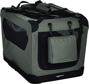 AmazonBasics Premium Folding Portable Soft Pet Dog Crate