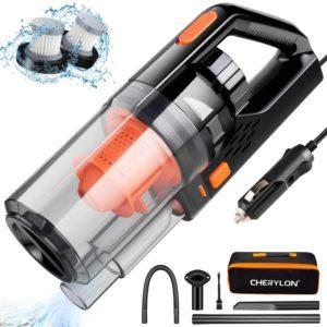 CHERYLON Portable Car Vacuum Cleaner