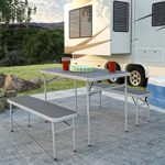 CoscoProducts COSCO Outdoor Furniture Table and Bench Set
