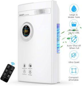 DUSASA Portable Quiet Dehumidifier