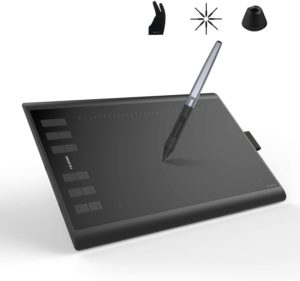 Huion Inspiroy H1060P Graphics Drawing Tablet