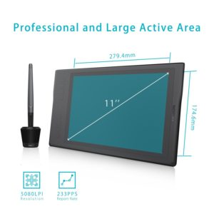 Huion Inspiroy Q11K Wireless Graphic Drawing Tablet 2