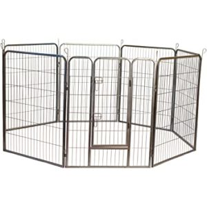Iconic Metal Tube Exercise and Training Playpen