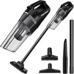 Lightweight Portable Vacuum Cleaner with Powerful Cyclonic Suction