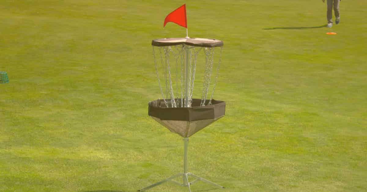 Portable Disc Golf Baskets