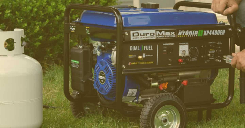 Portable Dual Fuel Generators