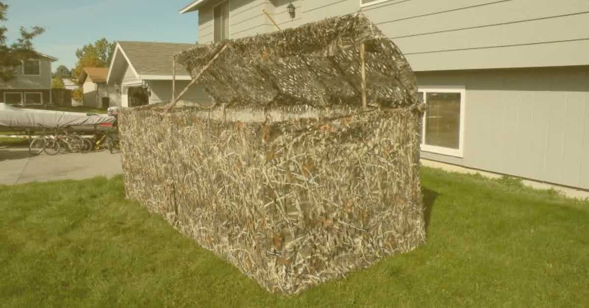 Portable Duck Blinds