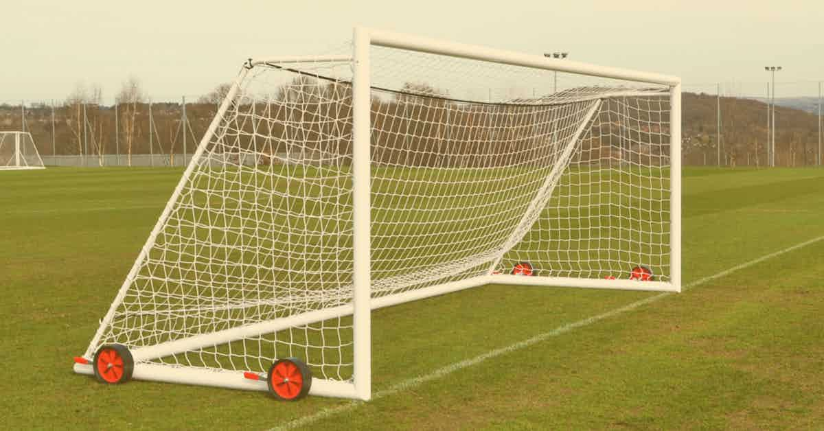 Portable Full Size Soccer Goals