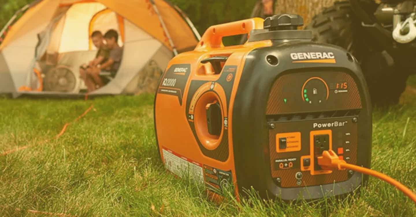 Portable Generators for Camping