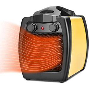 Portable Space Heater - 2 In 1 Ceramic Heater