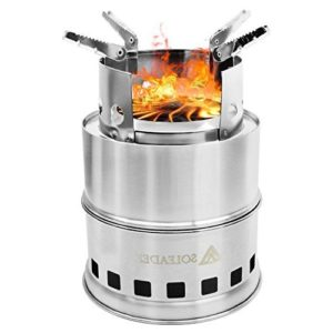 SOLEADER Portable Wood Burning Camp Stove