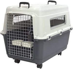SportPet Designs Plastic Wire Door Travel Dog Crate