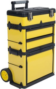 Stackable Toolbox Rolling Mobile Organizer