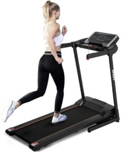 Tidyard Electric Treadmill Motorized Running Machine