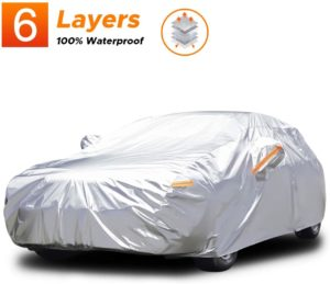 Audew 6 Layers Car Cover