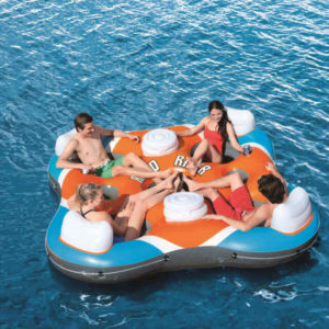 Bestway CoolerZ Rapid Rider Quad Inflatable Raft 2