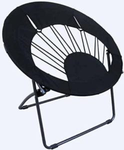 BlackRound Chair for Living Room Use