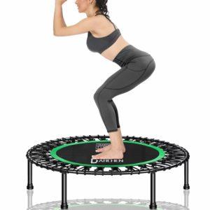 DARCHEN 450 lbs Mini Trampoline for Adults