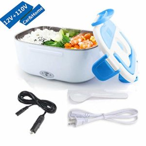 Electric Lunch Box 2 in 1 Food Heater Car Use