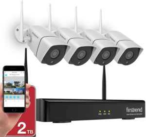 Firstrend 8CH 1080P Wireless NVR System