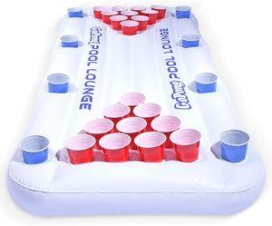 GoPong Pool Lounge Floating Beer Pong Table