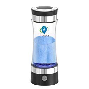 Hydrogen Water Alkaline Glass Bottle