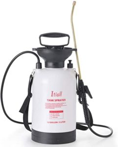 ITISLL 1.3Gallon Garden Pump Sprayer