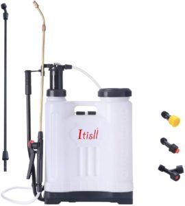 ITISLL 4 Gallon Backpack Sprayer