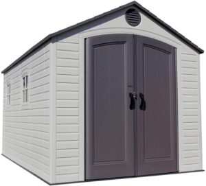 LIFETIME 6402 Outdoor Storage Shed