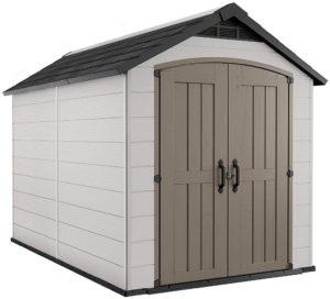 Montfort 7.5' x 11' Resin Outdoor Storage Shed