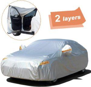 SEAZEN Car Cover with Zipper