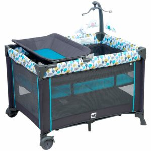 Sturdy Play Yard with Comfortable Mattress