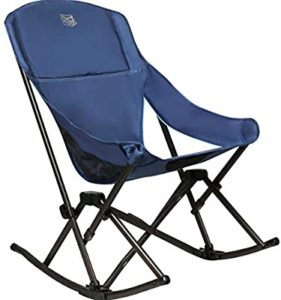 Timber Ridge Capsule Compact Quad Folding Rocker Camping Chair