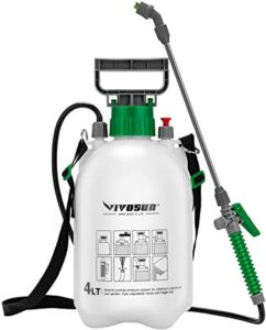 VIVOSUN 1.3 Gallon Lawn and Garden Pump Pressure Sprayer