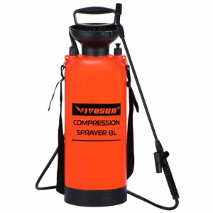 VIVOSUN 2.0 Gallon Lawn and Garden Pump Pressure Sprayer