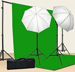 Chromakey Green Screen Kit